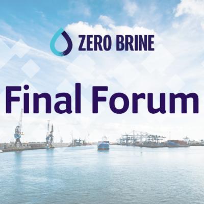 ZERO BRINE Final Forum on 4 November in Delft