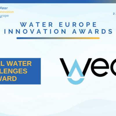 Winner of the day: WeCo – Global Water Challenges Award