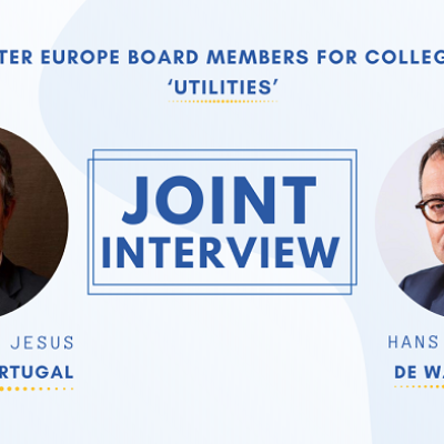 Joint Interview with Claudio Jesus & Ηans Goossens – Water Europe Board Members for College C ' Utilities'