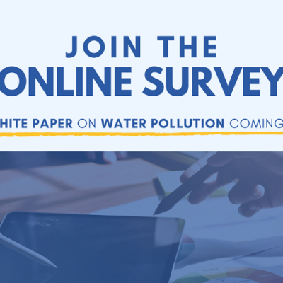 Online survey for the new Water Europe White Paper on Water Pollution